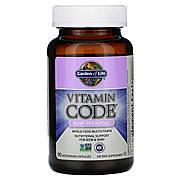 Сырые витамины для беременных, RAW Prenatal, Vitamin Code, Garden of Life, 90 вегетарианских капсул