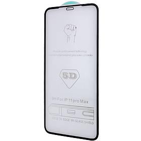 """Захисне скло 5D Hard (full glue) (тех.пак) для Apple iPhone 12 Pro Max (6.7 """")"""