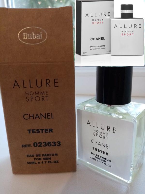 Тестер мужской парфюм Chanel Allure Sport 50 мл