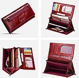 Прикольный кожаный женский кошелек, фото 5