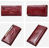 Прикольный кожаный женский кошелек, фото 7