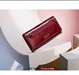 Прикольный кожаный женский кошелек, фото 8