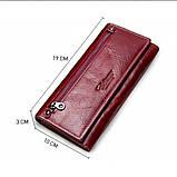 Прикольный кожаный женский кошелек, фото 9