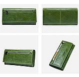 Прикольный кожаный женский кошелек, фото 3