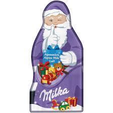 Альпійське молоко Milka Santa Claus Alpine Milk 85 g