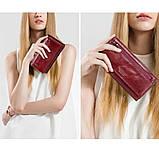 Прикольный кожаный женский кошелек, фото 10