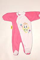 Человечек для новорожденного из флиса 20,22,24 р,разные цвета.