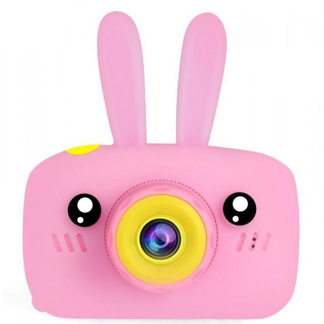 Детская фотокамера Baby Photo Camera Rabbit X-500 Розовая