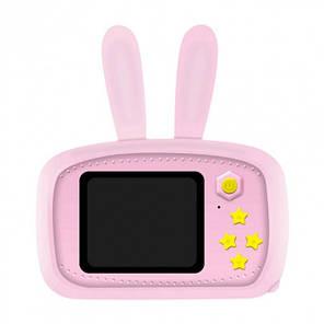Детская фотокамера Baby Photo Camera Rabbit X-500 Розовая, фото 2