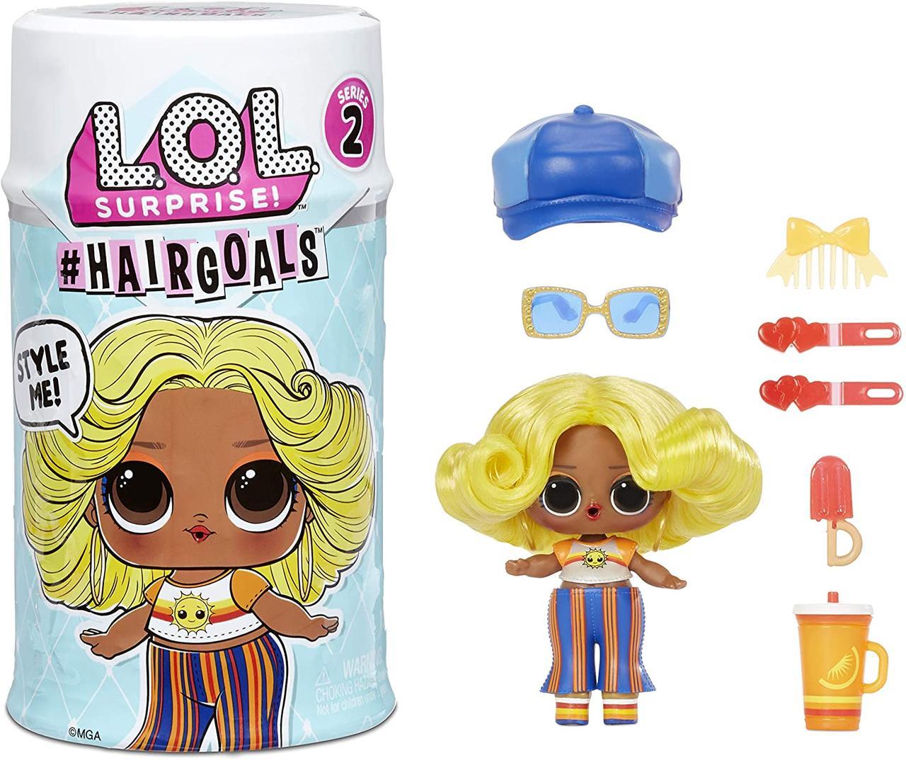Игровой набор ЛОЛ из серии Hairgoals 2.0 - Модный Стиль Оригинал LOL Surprise