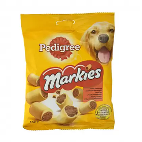 Хрустящее печенье Pedigree Markies 150г для собак