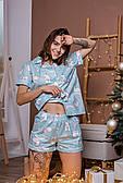 Пижама женская хлопковая с кантом
