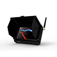 Портативный 24-х канал. приёмник беспроводных камер 1.2 Ghz c LCD экраном, записью и шторкой от солнца (TE981H