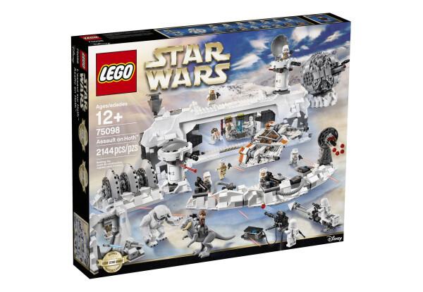 Конструктор LEGO Star Wars Нападение на Хот (75098)