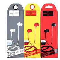 Наушники проводные MP3 Hoco M14