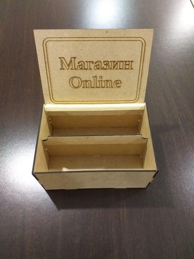 "НОВИНКА! Купюрница коробка шкатулка для денег ""Магазин Online"""