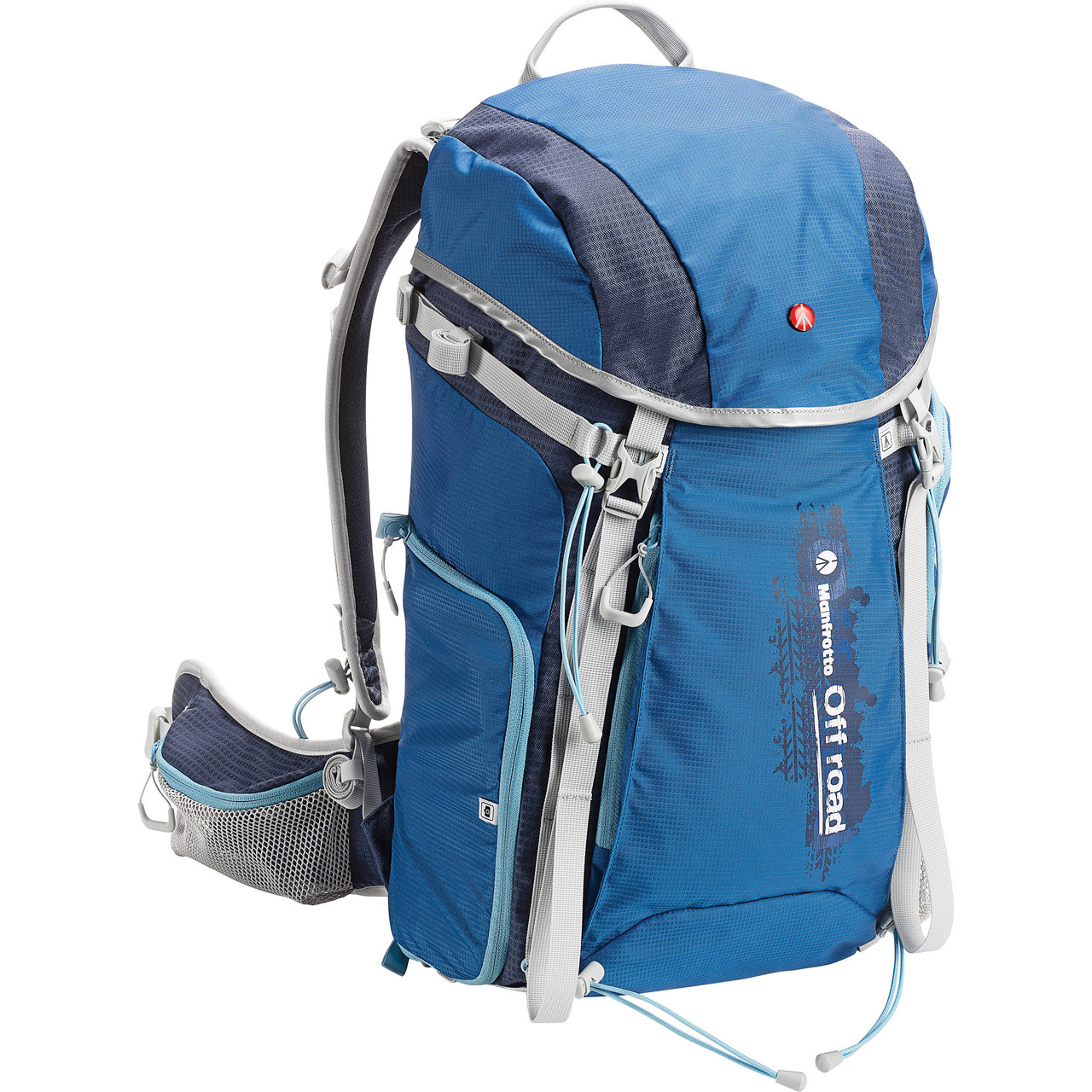 Manfrotto Off road Hiker 30L Backpack and Aluminum Tripod and Ball Head (Blue) , фото 1