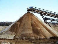 Перевозка песка щебня шлака,отсева бут до  40 тонн.