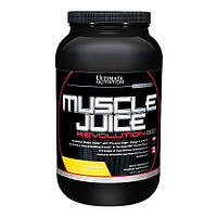Muscle Juice Ultimate nutrition 2600 Revolution 2120g Банан (Уценка: сроки годности 09/2017)