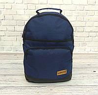 Стильный рюкзак Levi`s, левис, левайс. Повседневный, городской. Синий с черным