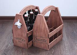 Ящик для бытылок ручной работы