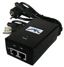 Інжектор Ubiquiti POE-24-12W-G (24V, 12W, Gigabit)