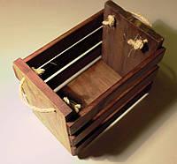 Винный ящик декоративный ручной работы