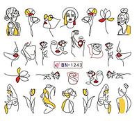 Слайдер водный для дизайна ногтей BN-1243