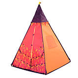 Детская игровая палатка для детей вигвам, фото 2