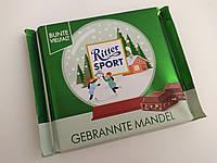 Шоколад Ritter Sport Gebrannte Mandel миндаль в карамели 100 г, фото 1