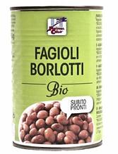 Бобі борлотті органічні, La Finestra, 400г