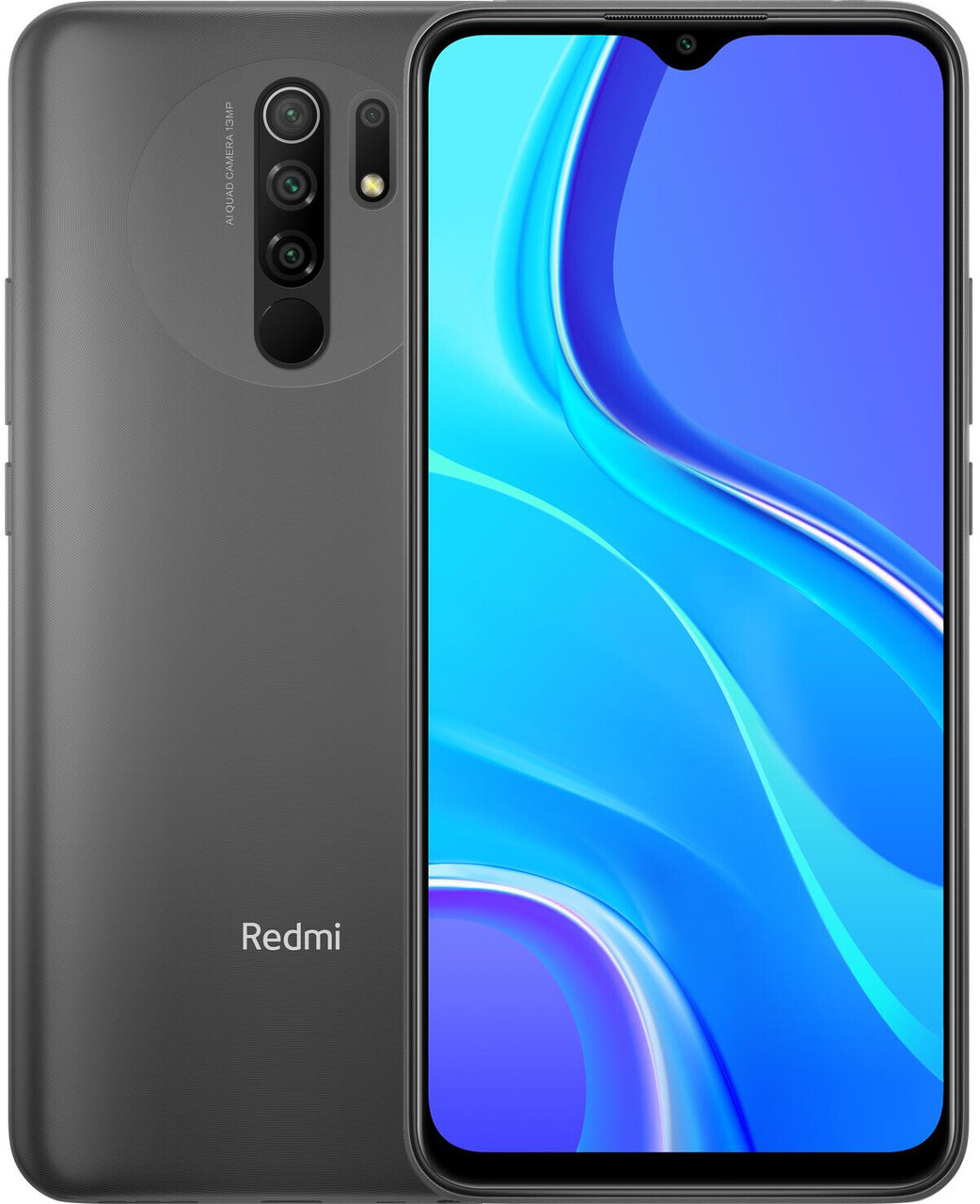 Смартфон Xiaomi Redmi 9 3/32GB Carbon Grey NFC