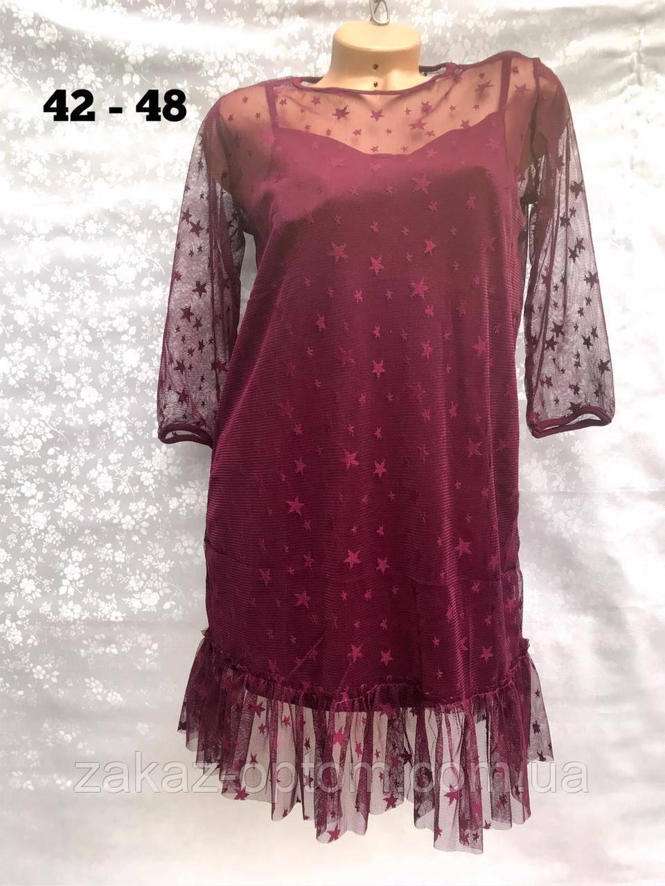 Платье женское оптом(42-48)Украина-64895