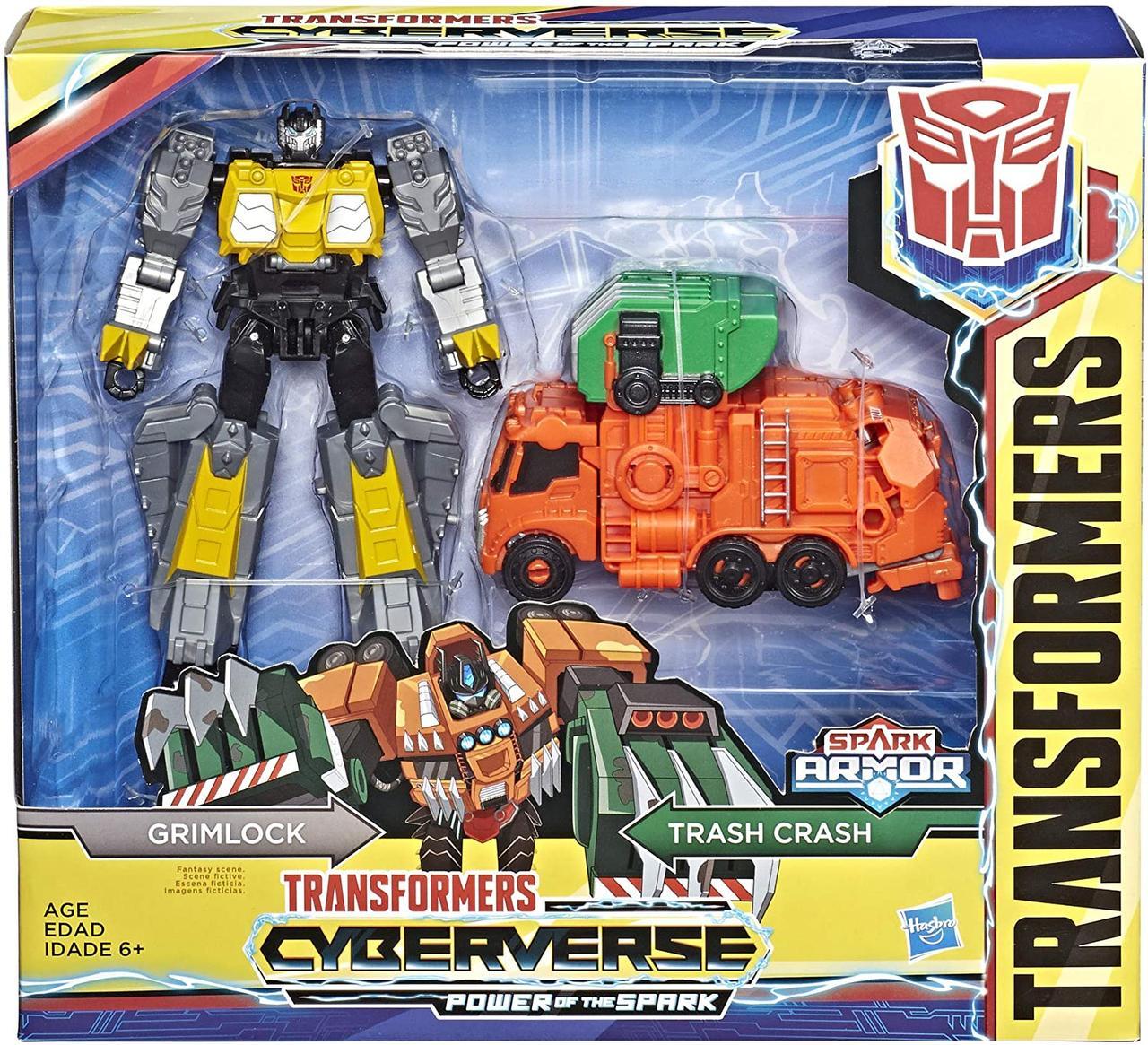 Трансформер Гримлок Кибервселенная Cyberverse Spark Armor Grimlock