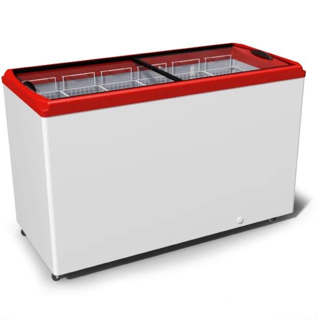 Морозильный ларь JUKA M500P с прямым стеклом