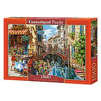 """Пазл """"Ресторани Тартуфо, ІталІя"""", 1500 елементів Castorland (5904438151738)"""