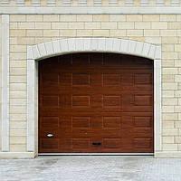 Филенчатые ворота для гаража