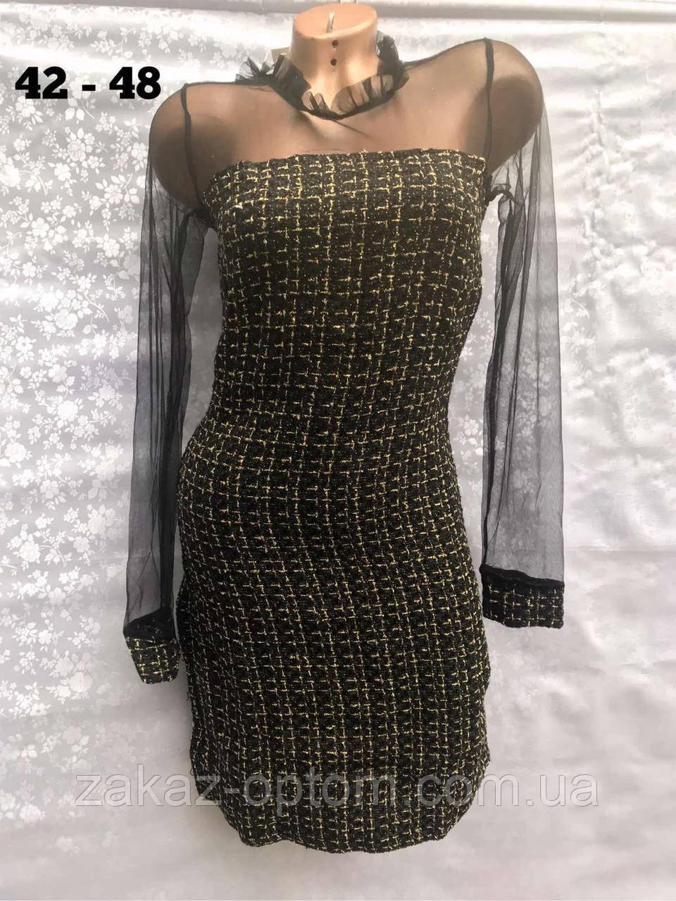 Платье женское оптом(42-48)Украина-64898