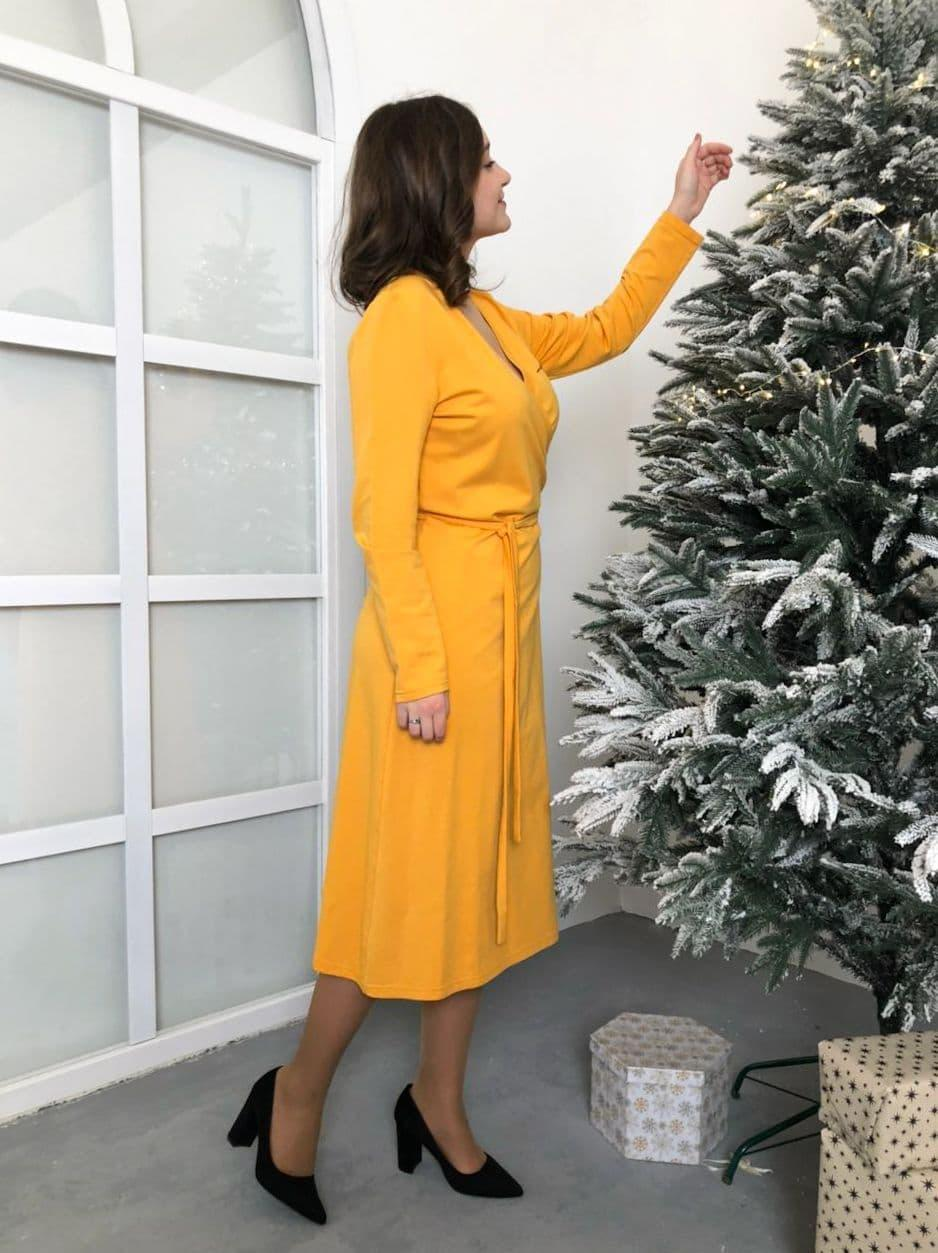 Платье Колибри желтое
