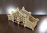 """Чайный домик """"Сказочный дворец"""" с конфетницами. Подставка для чайных пакетиков, фото 2"""