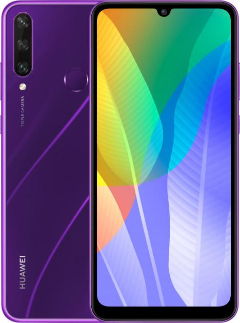 Смартфон Huawei Y6p 3/64GB Phantom Purple