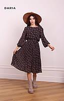 Воздушное платье с поясом ЛЧ 017 /02, фото 1