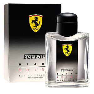 Ferrari Black Shine туалетная вода 125 ml. (Феррари Блэк Шайн)