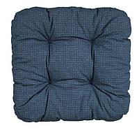 Подушка HASSELURT 40x40x8см синій