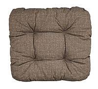Подушка HASSELURT 40х40х8см коричневий