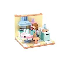 Конструктор SLUBAN арт 0757 (кімната, фігурка,від 105 дет, 6 видів №A кухня