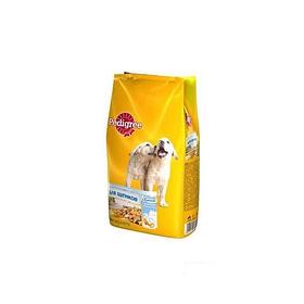 Сухой корм Pedigree с молочными подушечками 500г для щенков