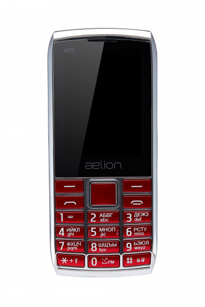 Телефон Aelion A600 Dual Sim Red