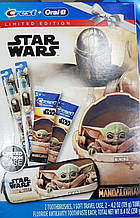 Набір дитячої зубної пасти 2шт + 2 зубної щітки + чохол Crest Kids Star Wars limited 238гр