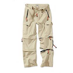 Брюки-трансформеры Surplus Trekking Trousers BEIGE S Бежевый 05-3595-14-S, КОД: 275405